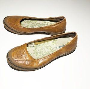 MERRELL leather Luna Chesnut slip ons SZ 8